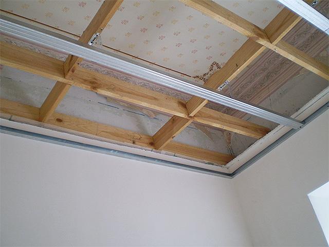 Нюансы сооружения каркаса на потолке