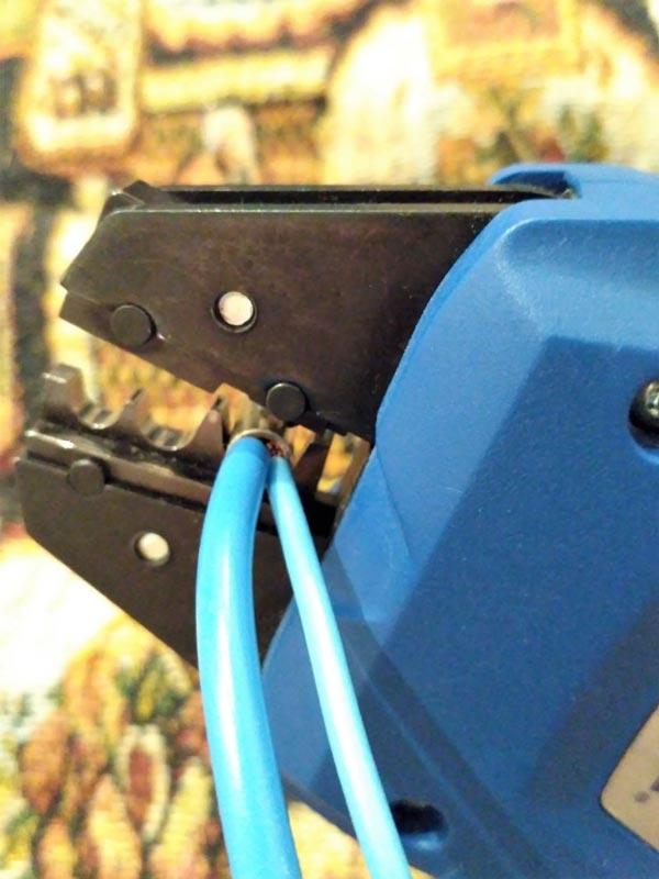уплотнение гильзы не по размеру сечения провода