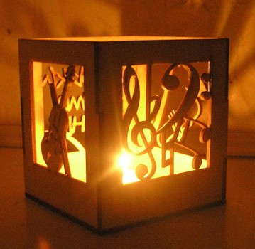 Мастер-класс: абажуры и светильники из фанеры