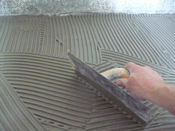 Клеим плитку на гипсокартон
