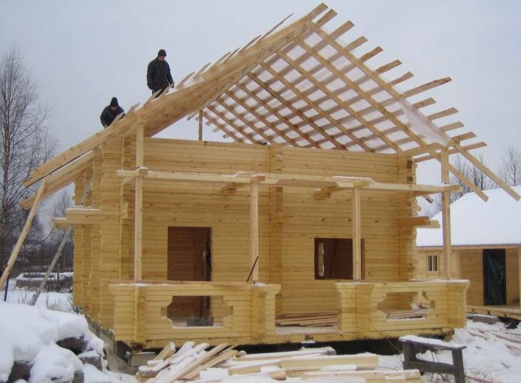 Инструкция как построить деревянный дом своими руками: практические советы и план-схема срубов + 77 фото