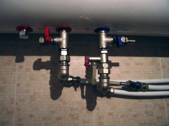 водонагреватели накопительные электрические установка