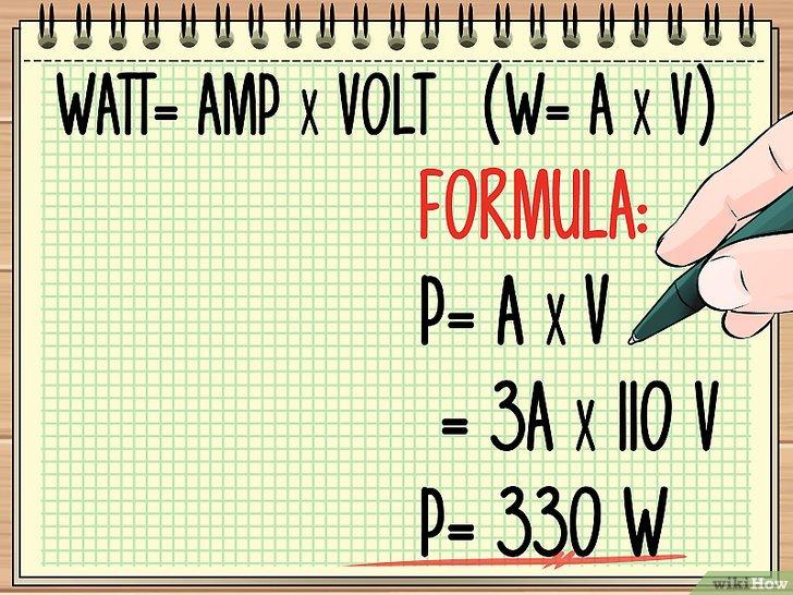 Изображение с названием Calculate Wattage Step 1