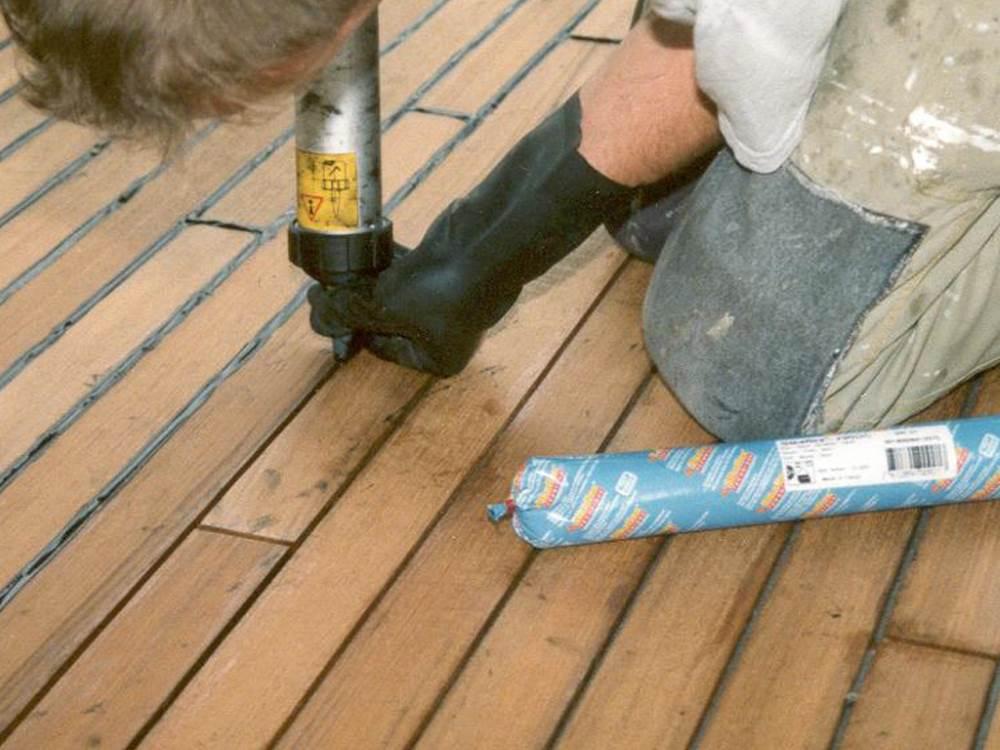 Локальный ремонт деревянного пола