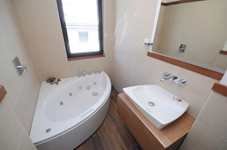 Дизайн маленькой ванной комнаты 2 кв.м.