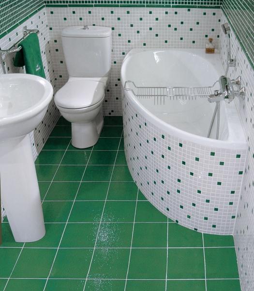 Фото реальных интерьеров совмещенных санузлов