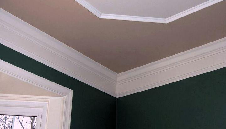 Декоративное оформление перехода между потолком и стеной