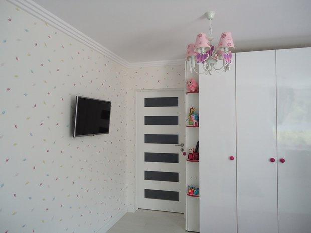 Правильная спокойная отделка детской комнаты