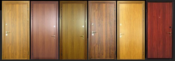 внутренняя отделка дверей