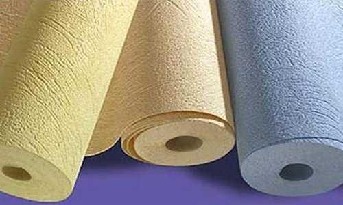 Акриловые обои - это бумажная основа (обычно цветная), на которую точечно нанесен акрил