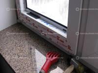 Выравнивание створки окна