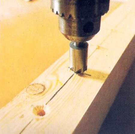 Фото обработки отверстий зенкером, madera.com.ar