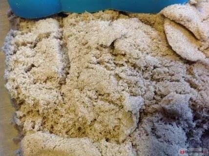 Рис. 7. Песок для приготовления смеси должен быть самой мелкой фракции