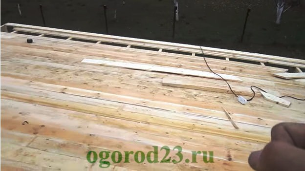 Односкатная крыша своими руками пошагово 11