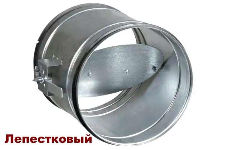 Одностворчатый обратный клапан вентиляции