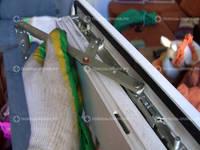 Установка поворотно-откидной фурнитуры