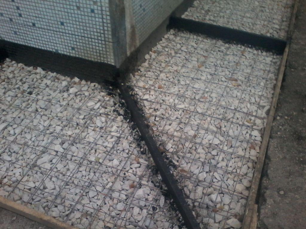 устройство отмостки вокруг дома из бетона