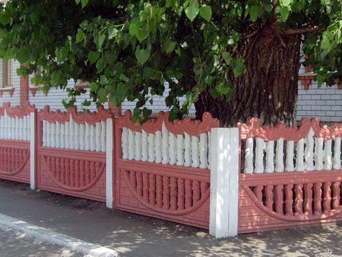 Распашные ворота из профнастила своими руками