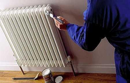 Возможна ли покраска горячей батареи отопления?