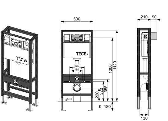 Система инсталляции унитаза