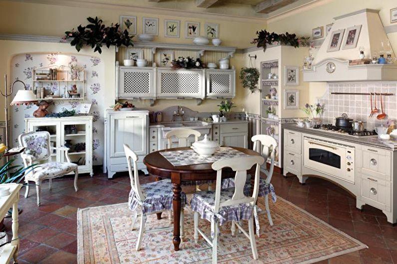 Кухня - Дизайн квартиры в стиле прованс