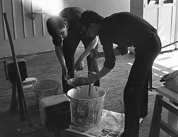 Приготовление раствора для побелки