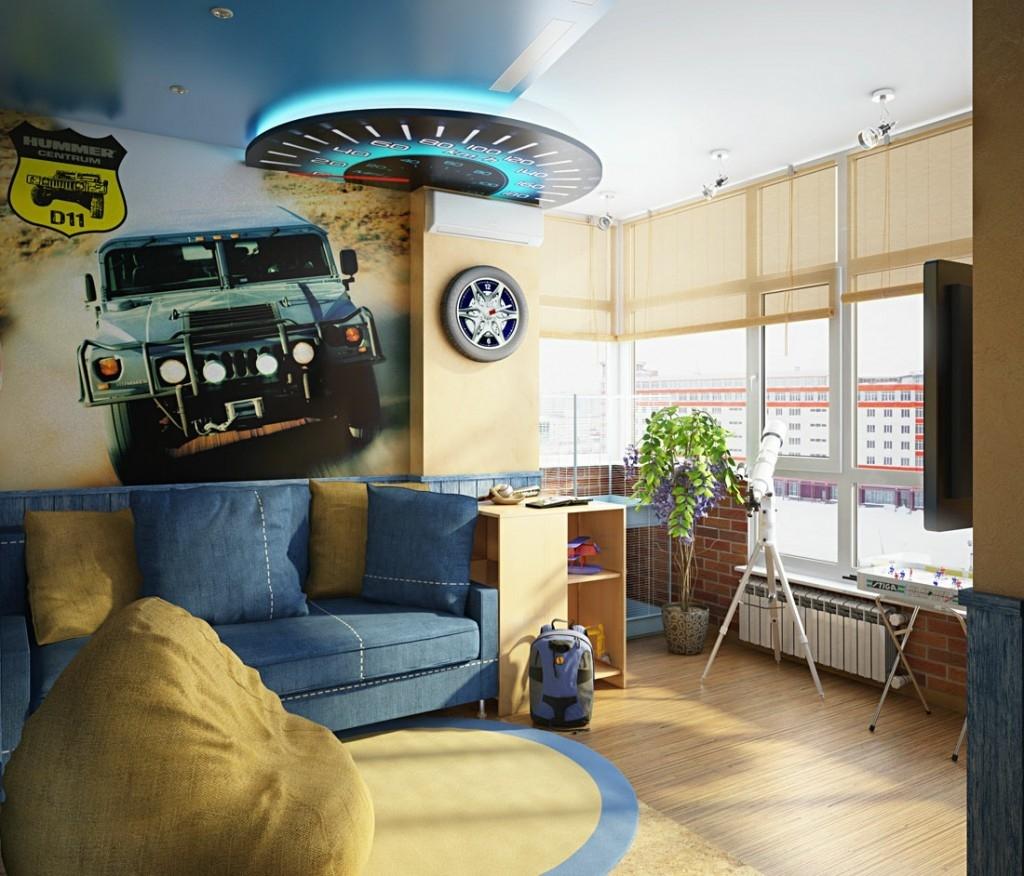 светлая детская комната для ребенка дизайн