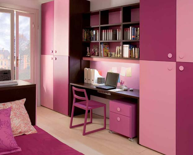 перебор с розовым цветом