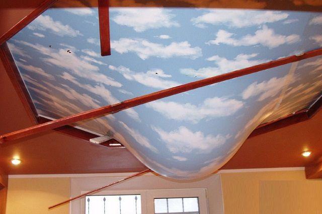 Натяжной потолок иногда может спасти от катастрофических последствий потопа с верхнего этажа