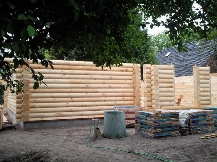 Деревянный дом своими руками