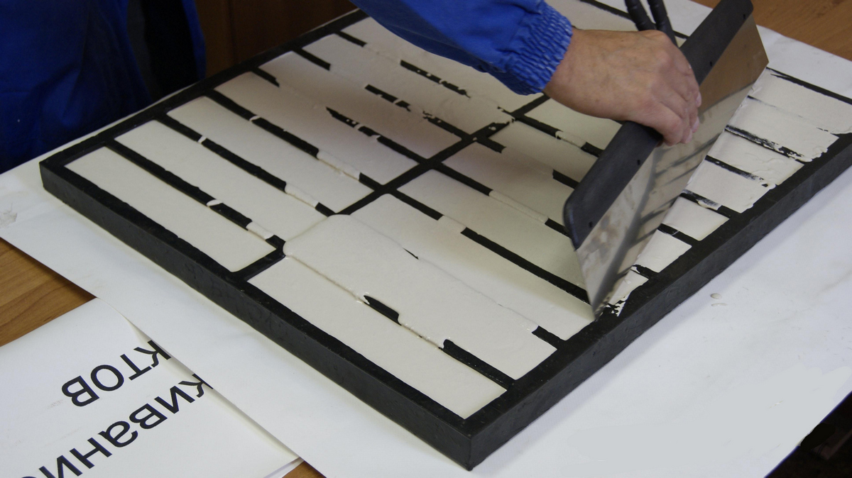 изготовление плитки в домашних условиях