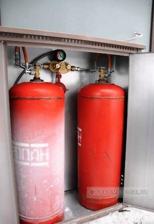 Отопление дома газовыми баллонами. Личный опыт