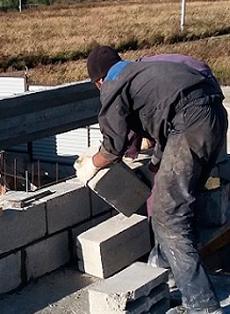 строить дом из пенобетона