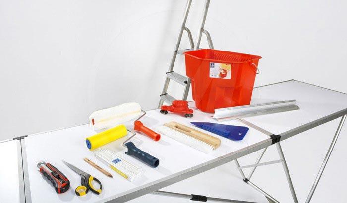 Набор инструментов для снятия обоев