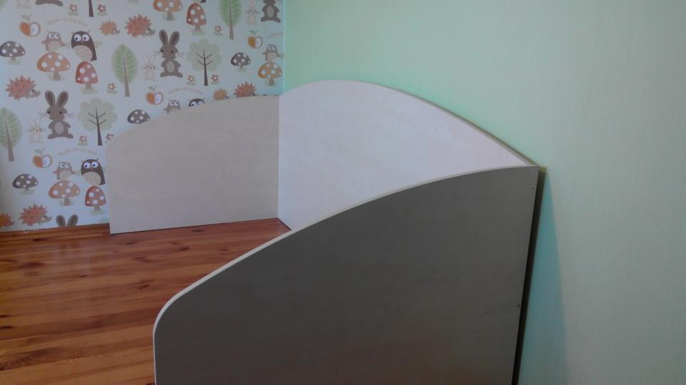 Сборка детской кровати. Фото 1