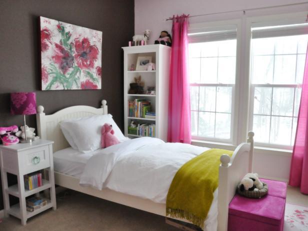 розовые аксессуары для детской