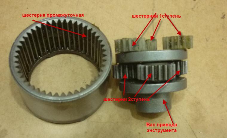 Разборка и ремонт редуктора
