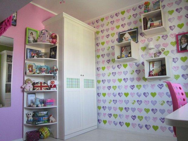 Белый шкаф для девочки