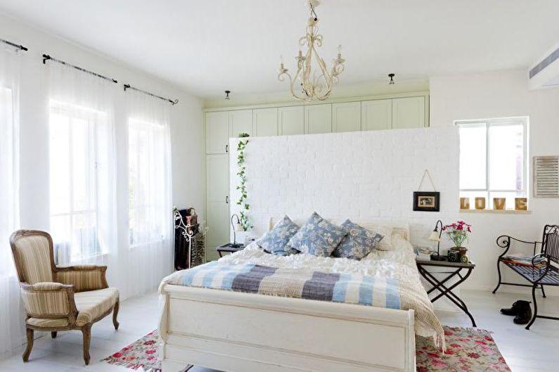 Спальня - Дизайн квартиры в стиле прованс