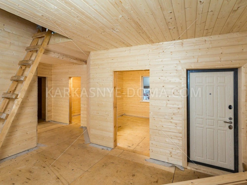 Внутренняя отделка каркасного дома