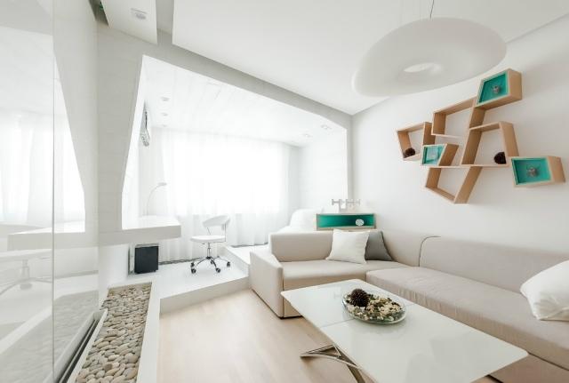 Дизайн зала небольших размеров
