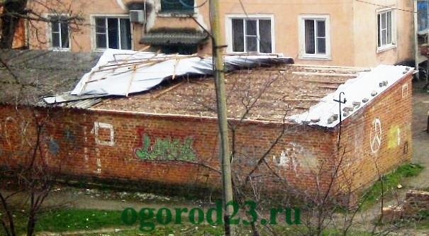 Односкатная крыша своими руками пошагово 12