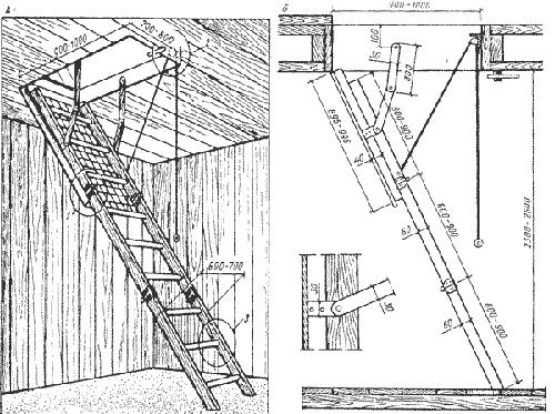 Складная-чердачная-лестница-на-тетивах