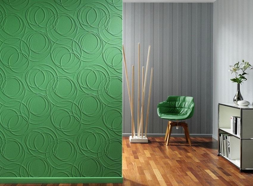 краска на обои для стен под покраску