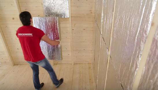 Теплоизоляция внешней стены