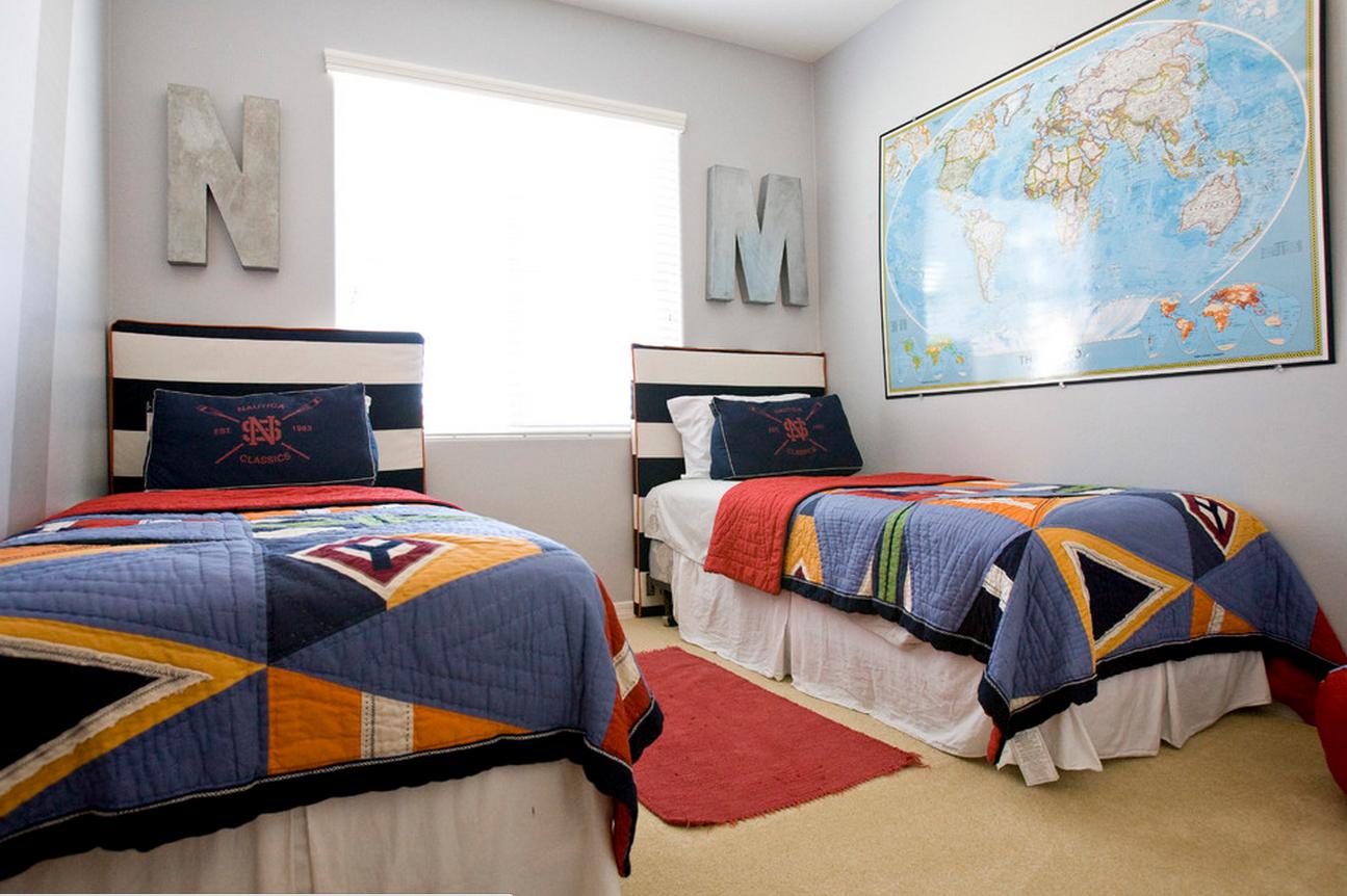 необычная детская спальня для ребенка картинка