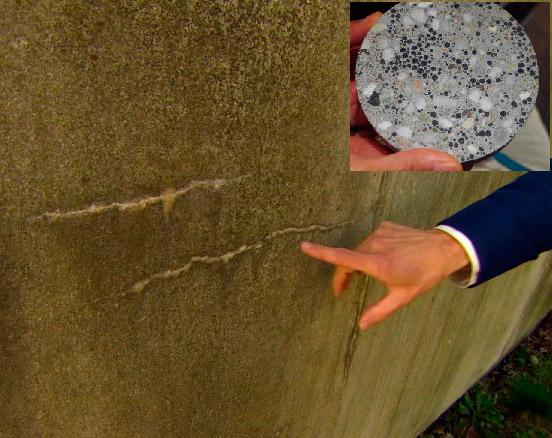 4. Новый стройматериал - самовосстанавливающийся бетон