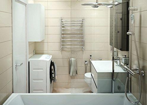 Ванная комната 5 кв.м: идеи дизайна (90 фото)