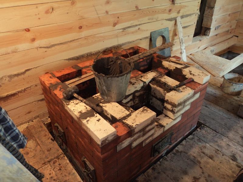 Как развести шамотную глину для кладки печи