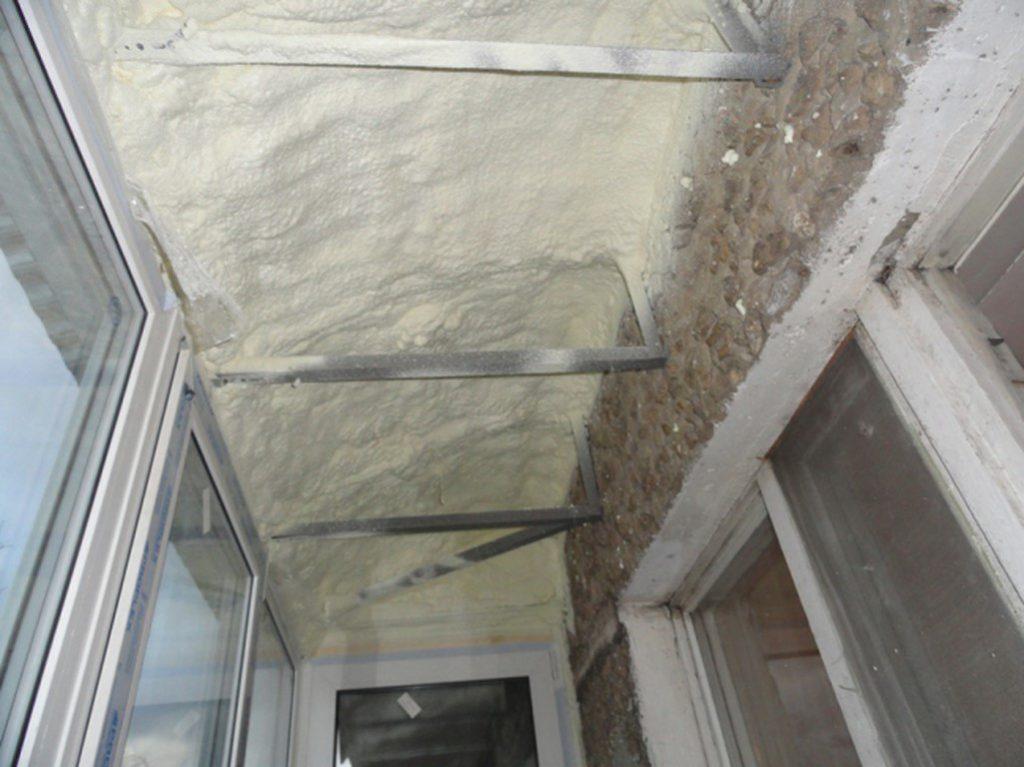 Ремонт потолка на балконе своими руками: качественное утепление